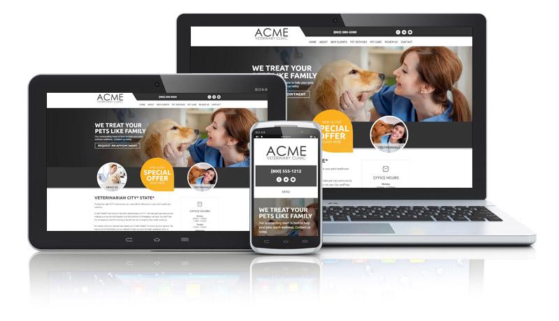 Aussie Veterinarian Website Collage