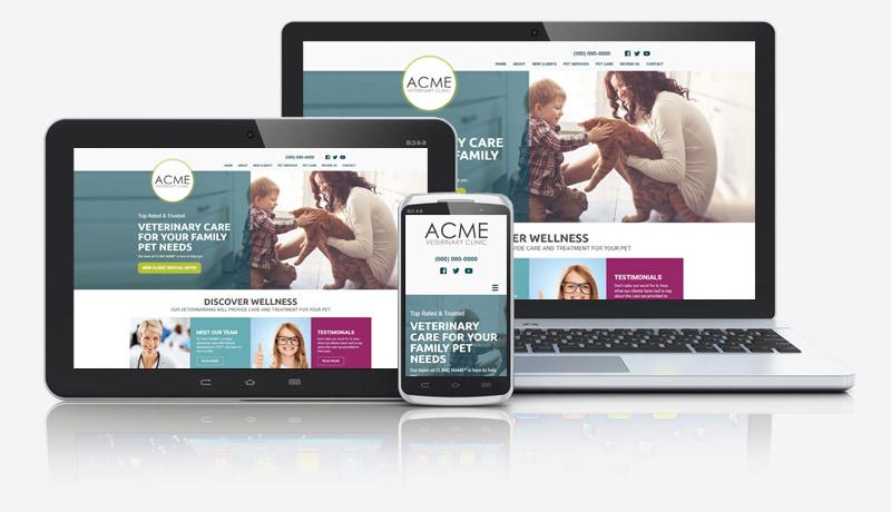 Simba Veterinarian Website Collage