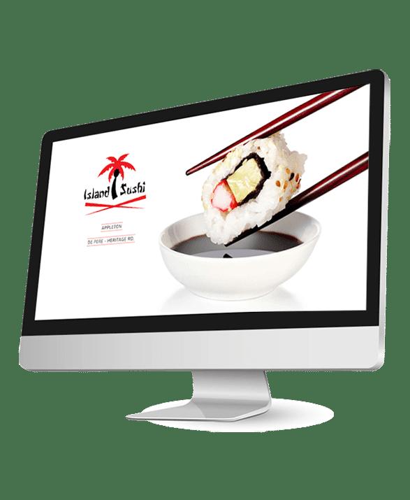 Leadbumps Featured Work Island Sushi