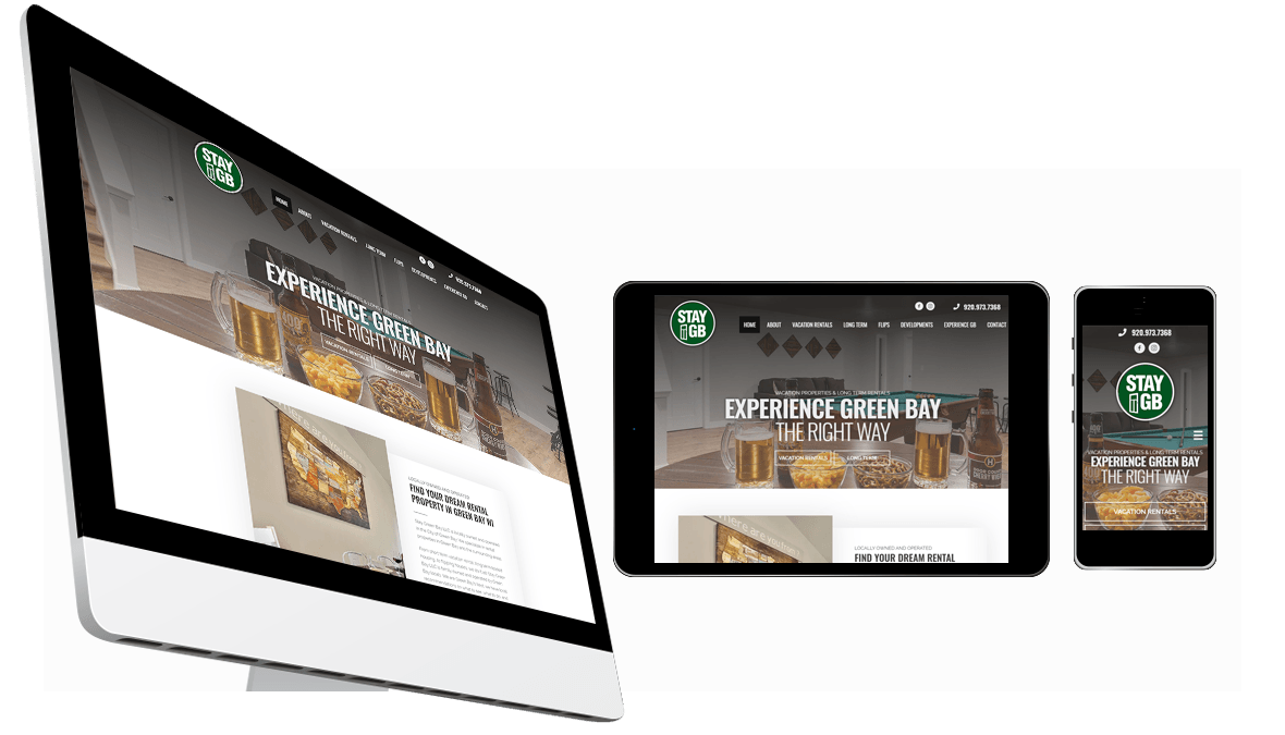 Website Design for Stay Green Bay