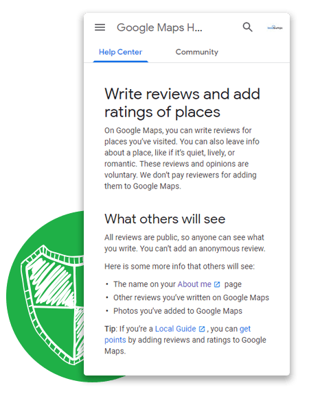 Small Business Google Reviews